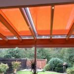 Sonnenschutzrollos Terrassendach